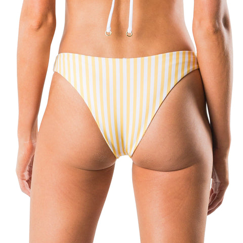 Rusty Women's Blaze Reversible Striped High Cut Bikini Pant