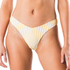 Blaze Reversible Striped High Cut Bikini Pant