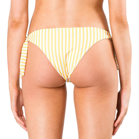 Rusty Women's Blaze Reversible Striped Tie SIde Midi Bikini Pant