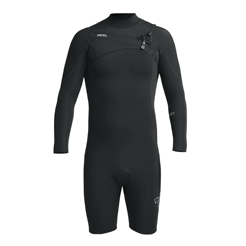 Men's Xcel Comp X 2mm L/S Chest Zip Springsuit SP20
