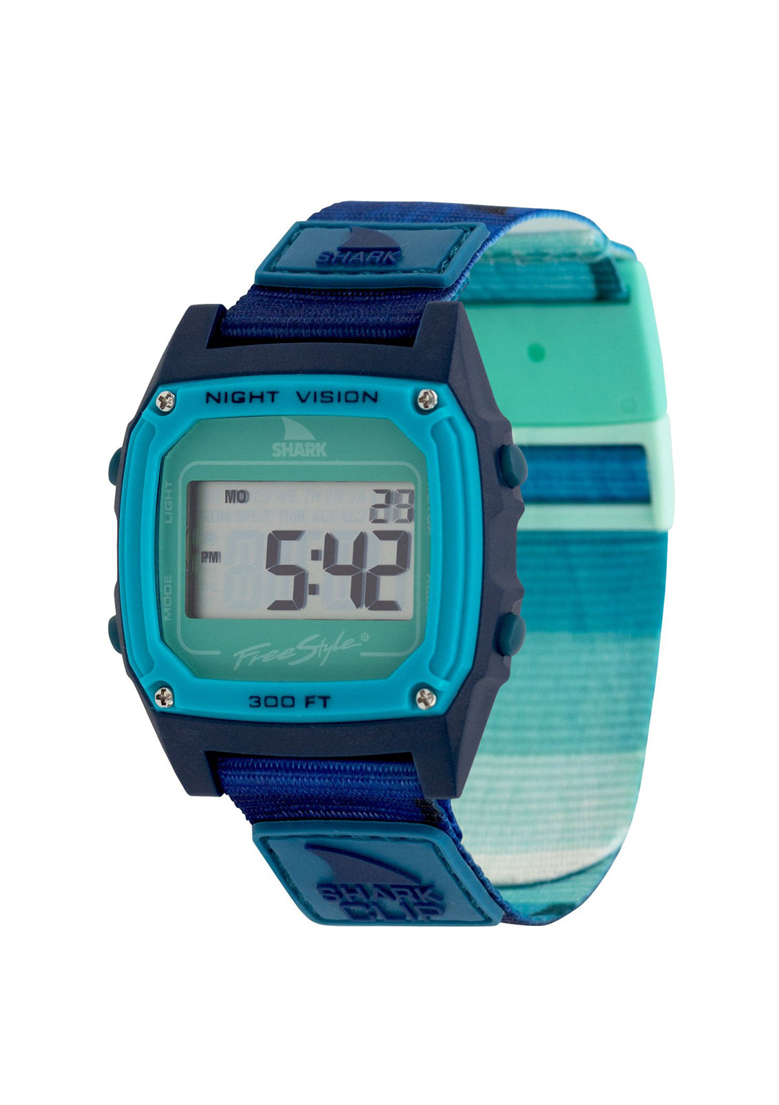 Shark Classic Clip Watch Ombre Fin Teal
