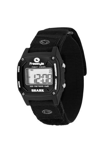 Shark Classic Fast Wrap Watch Black