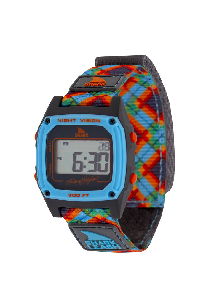 Shark Classic Leash Watch Tartan Blue