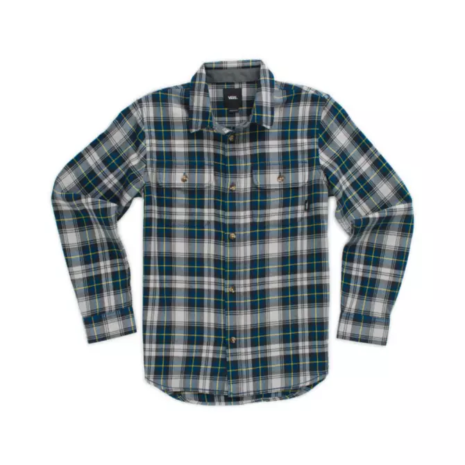 Vans Toddlers Boy's Sycamore Button Down Flannel