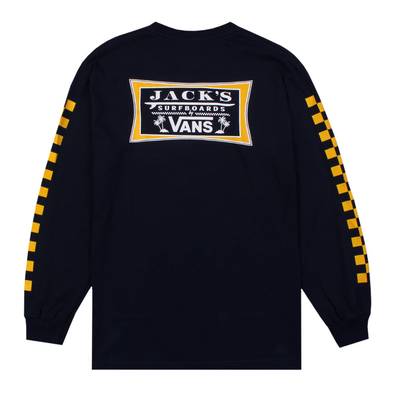 Vans X Jacks Surfboard Long Sleeve Tee