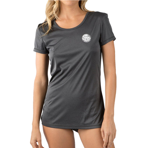 Rip Curl Women's Whitewash Loose Fit Short Sleeve Rashguard