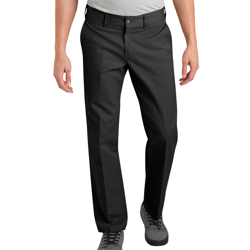 "Dickies 67"" Slim Fit Straight Leg Work Pants"