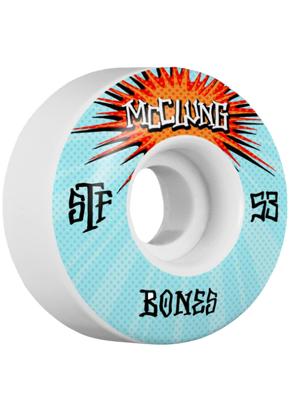 Bones Wheels STF Pro Trent McClung Blast 53mm Wheels
