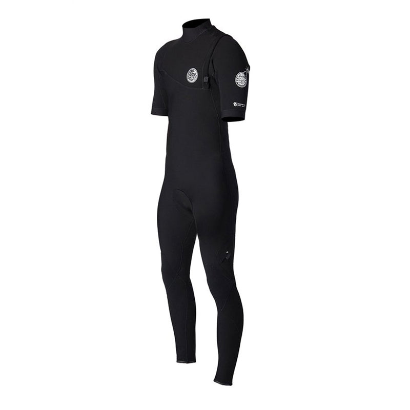 Rip Curl Men's E-Bomb 2/2mm S/S Fullsuit Zip Free Wetsuit SP20