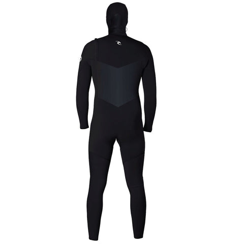 Rip Curl Men's Dawn Patrol 5/4mm Hooded Chest Zip Fullsuit Wetsuit FA19
