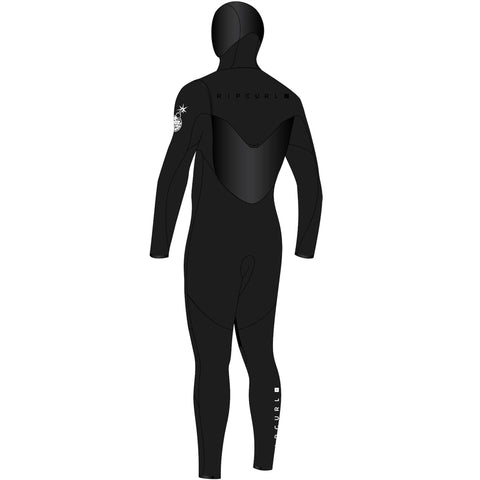 Rip Curl Flashbomb 4/3mm Hooded Fullsuit Wetsuit FA19