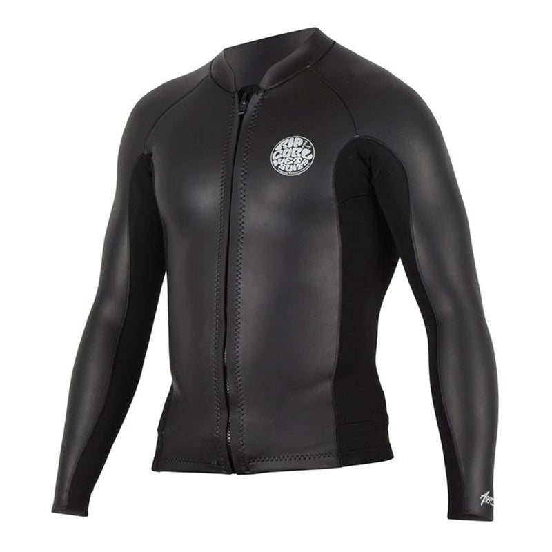 Rip Curl Men's Aggrolite 1.5mm Front Zip Wetsuit Jacket FA19