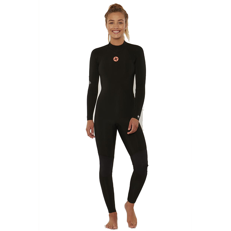 Women's 7 Seas 4/3mm Back Zip Fullsuit