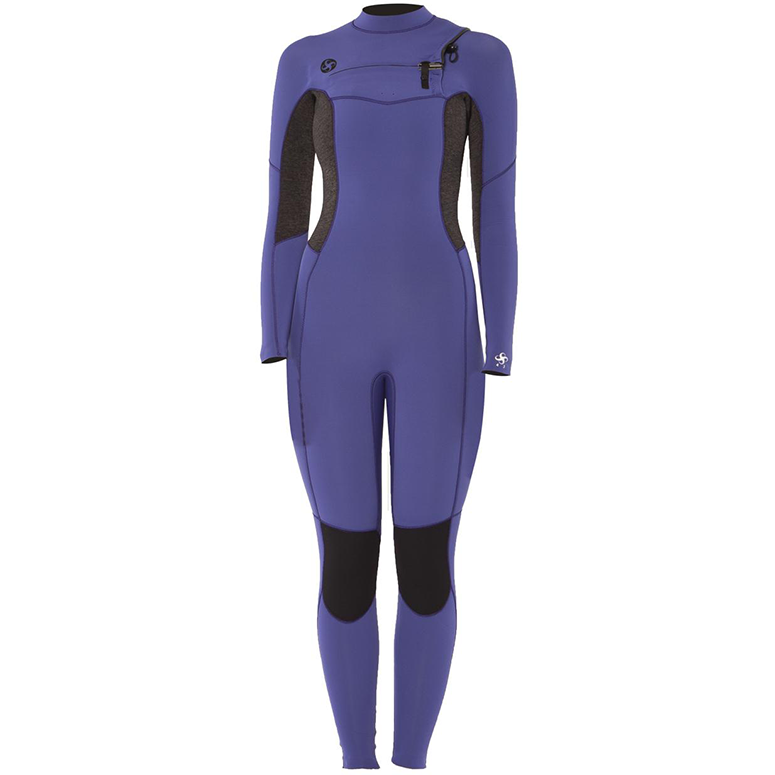 Women's 7 Seas 4/3mm Chest Zip Fullsuit