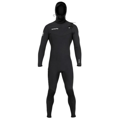 Hyperflex Men's VYRL 4mm Hooded Front Zip Fullsuit Wetsuit FA19