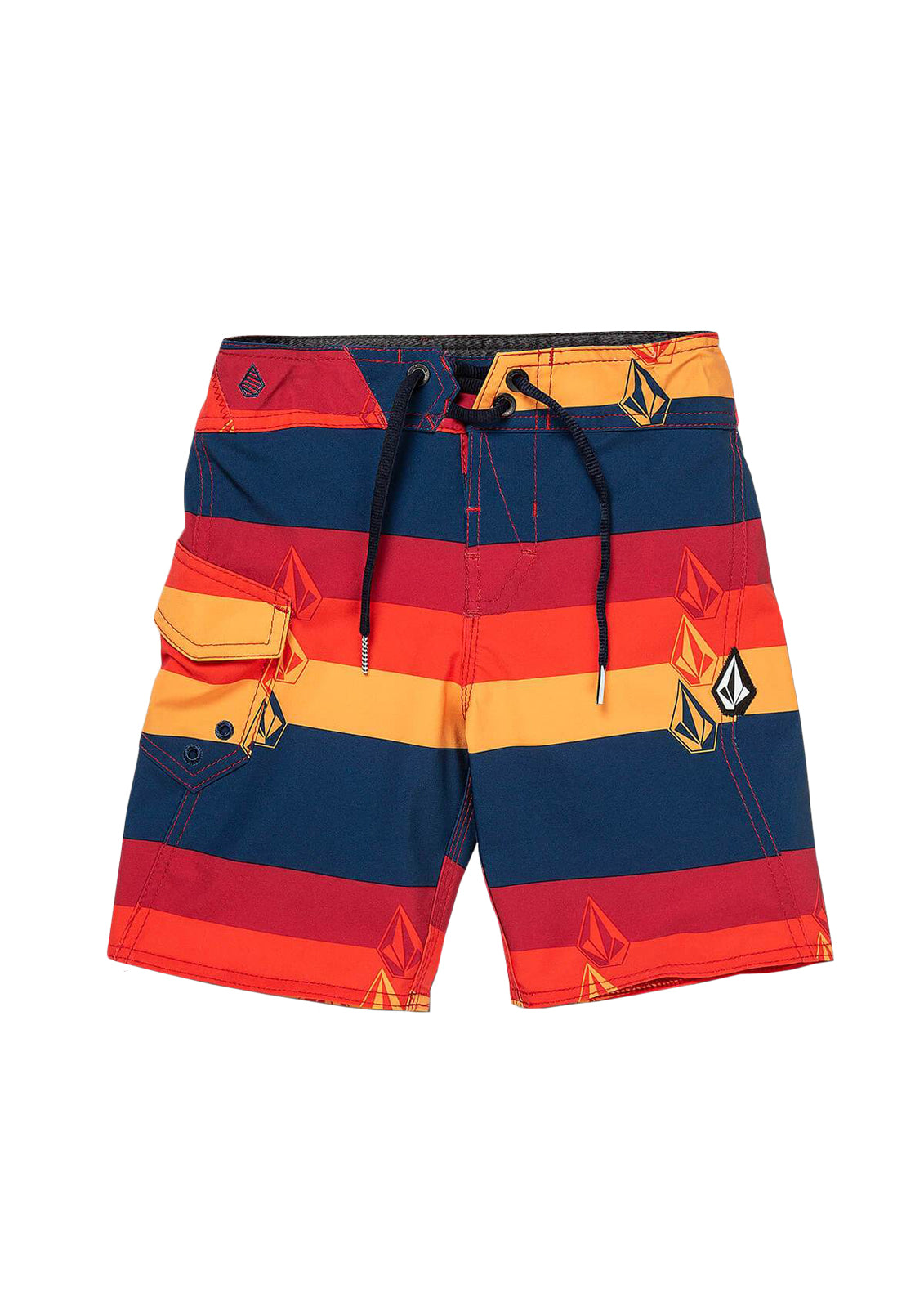 Little Boy's Lido Liney Mod Boardshorts