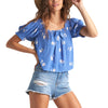 Womens Perfectly Puff Top