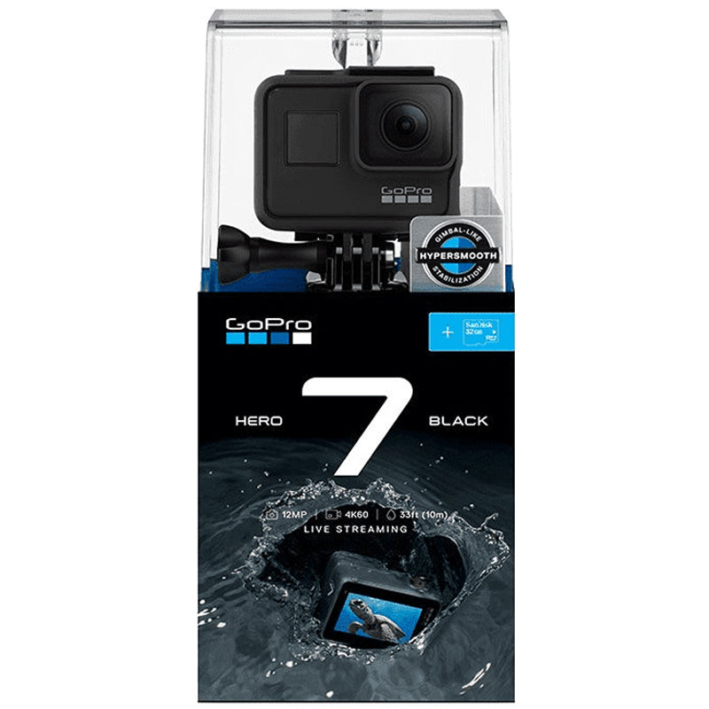 Hero 7 Black Edition with SD Card Bundle