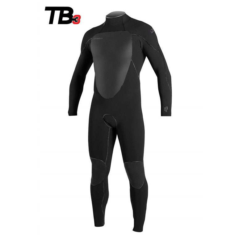 O'Neill Men's PsychoFreak 4/3mm Back Zip Fullsuit Wetsuit (Past season)