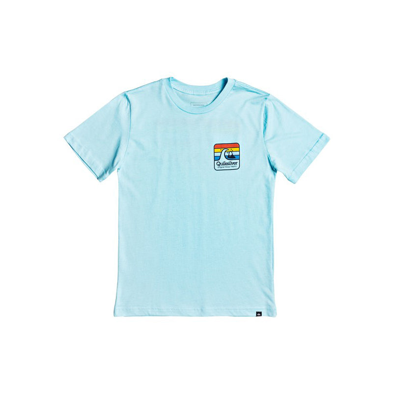 Quiksilver Boy's (8-16) Clean Lines Short Sleeve T-Shirt