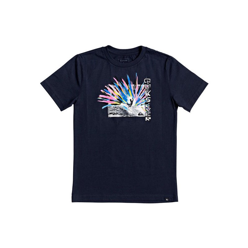 Quiksilver Boy's (8-16) Painted Splash T-Shirt