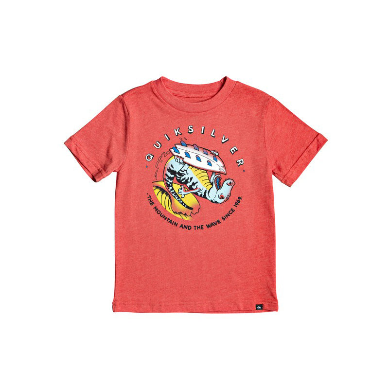 Quiksilver Boy's (2T - 7X) Dino Surf Short Sleeve T-Shirt