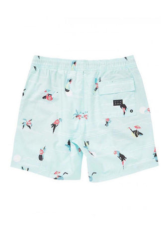 Little Boy's Sunday Layback Boardshorts
