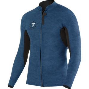 Boys' Vissla 7 Seas 2mm Front Zip Jacket