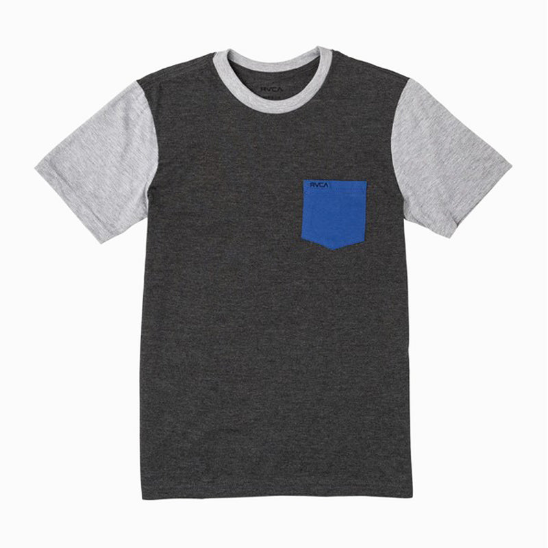 Boys Ollie Color Block S/S Tee