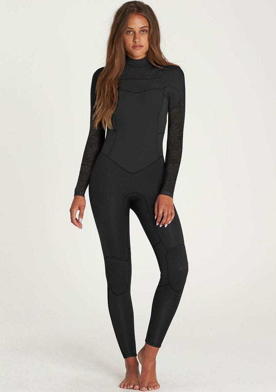 Billabong Women's 4/3 Synergy Chest Zip Wetsuit