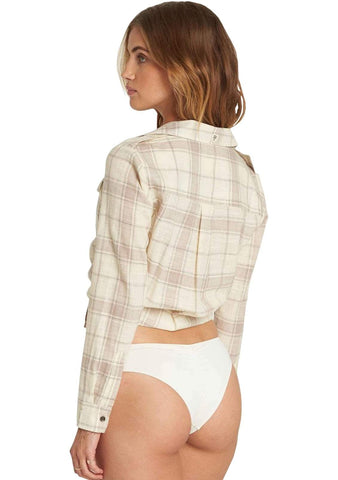 Womens Venture Out Plaid Top