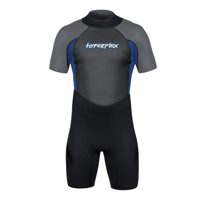 Hyperflex Men's Access 2.5mm S/S Back Zip Springsuit FA19
