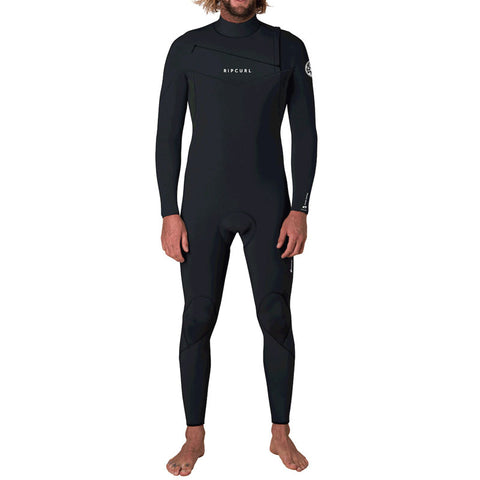 Rip Curl Men's Dawn Patrol 3/2mm Chest Zip Fullsuit Wetsuit FA19