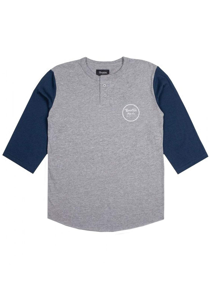 Wheeler 3/4 Sleeve Henley Tee (Past Season)