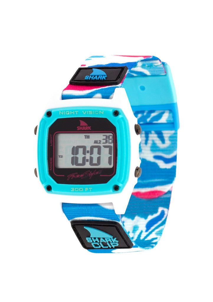 Shark Classic Clip Aloha Watch Mirage Blue