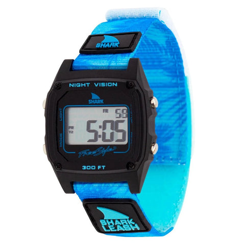 Shark Classic Leash Aloha Watch Blue Palms