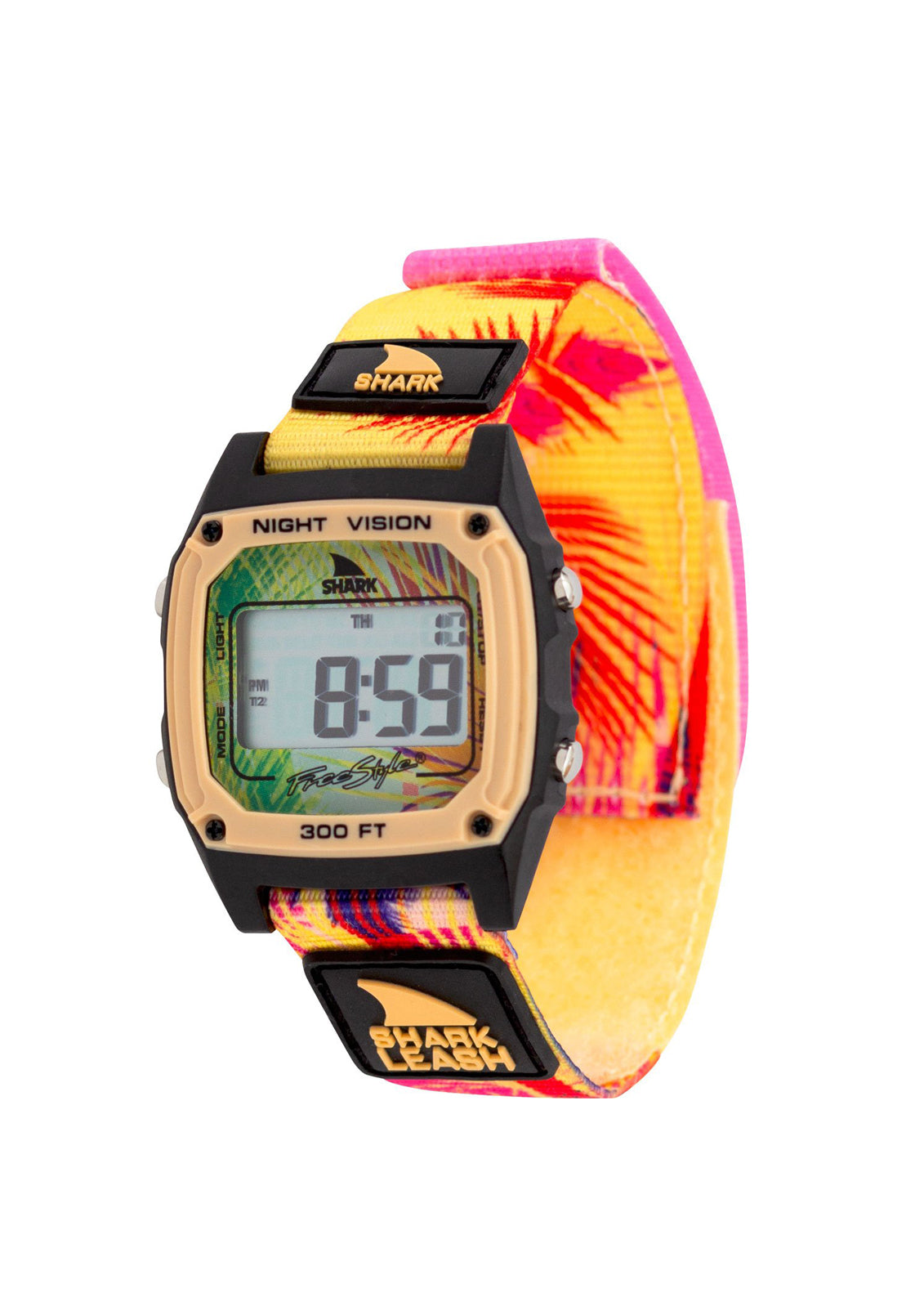Shark Classic Leash Aloha Watch Tiki Peach