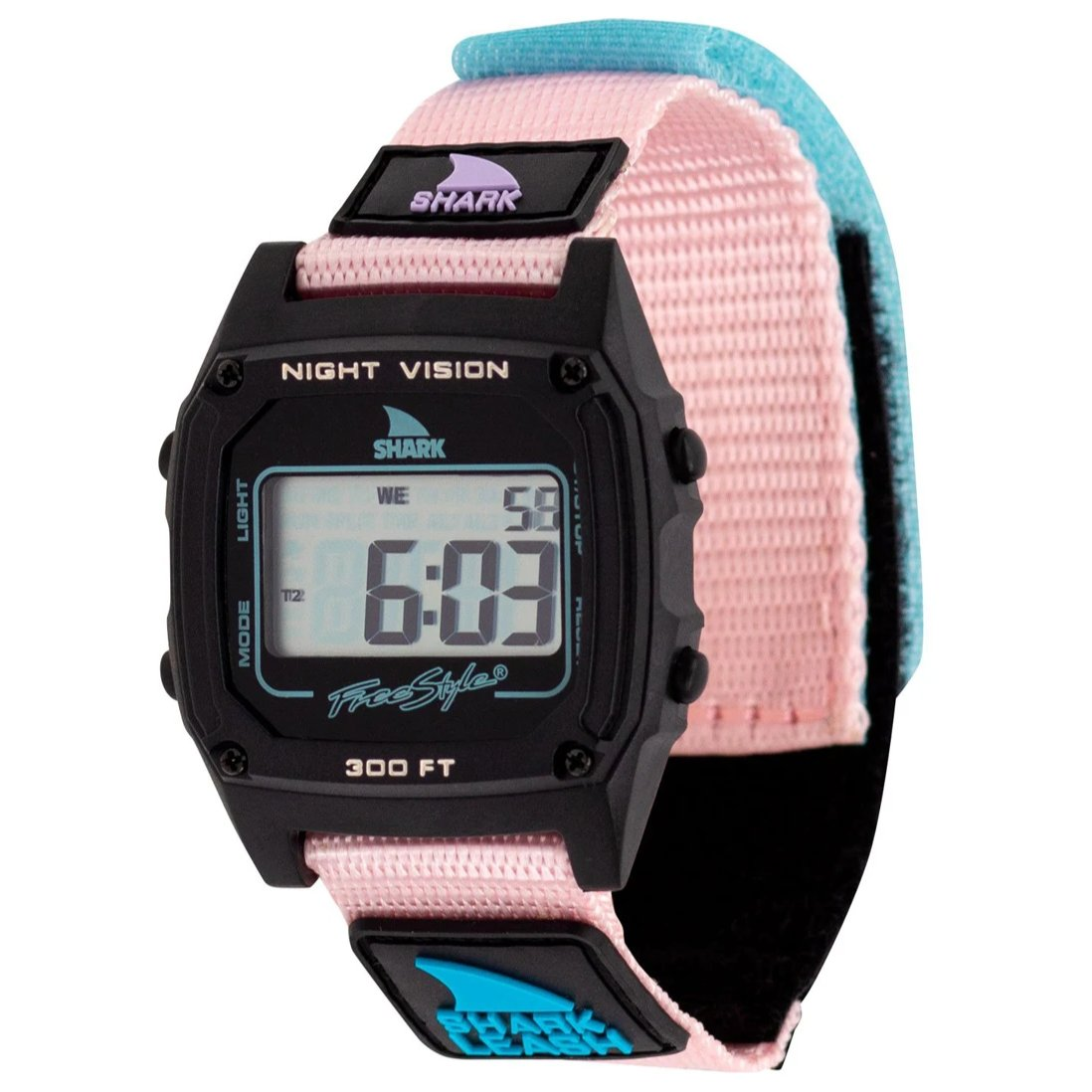 Shark Classic Leash Watch Cotton Candy