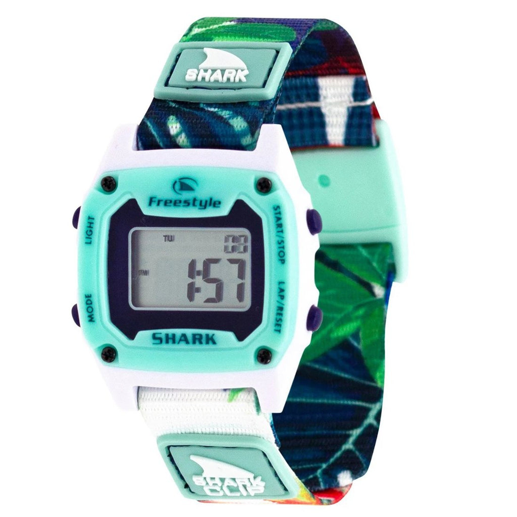 Shark Mini Clip Aloha Watch Paradise Green