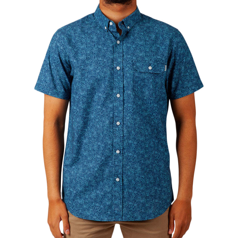 Rip Curl Windward Short Sleeve Button Up Shirt