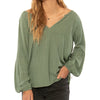 Women's Whispering Tales Woven Top