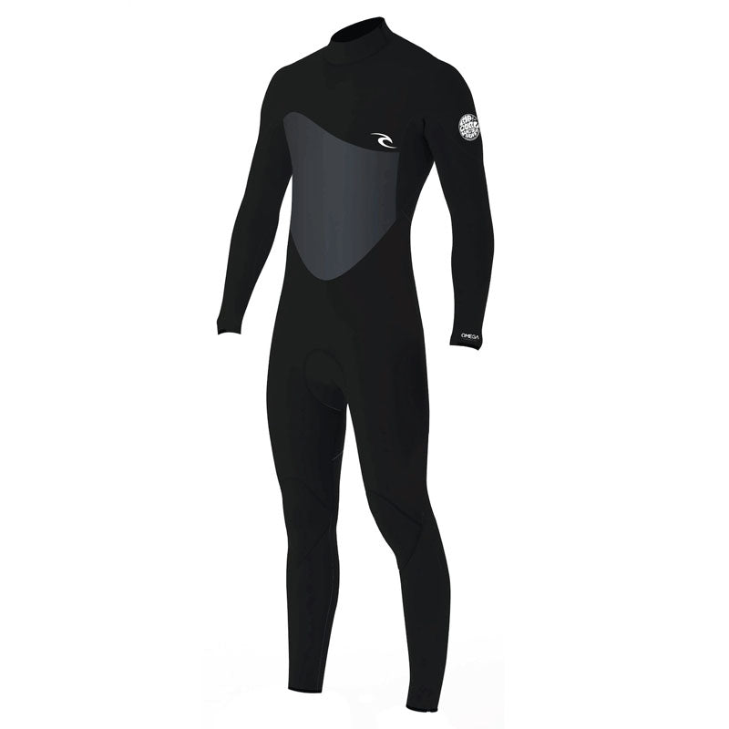 Rip Curl Men's Omega 3/2mm Back Zip Fullsuit Wetsuit SP20