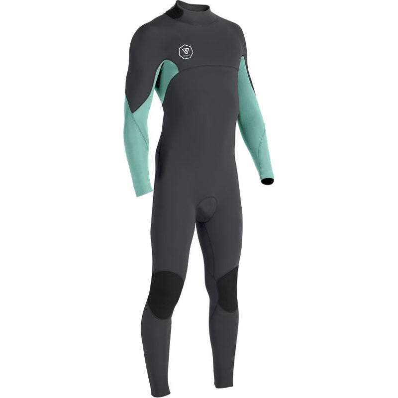 Vissla Boy's 7 Seas 3/2mm Back Zip Fullsuit Wetsuit FA19