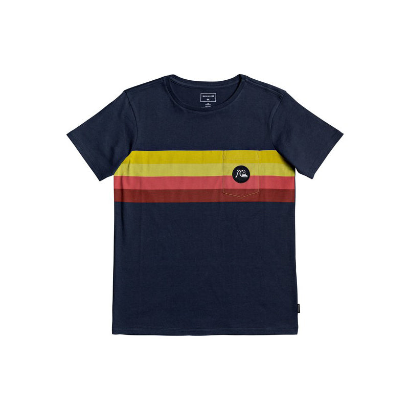 Quiksilver Boy's (8-16) Seasons Stripe Short Sleeve T-Shirt