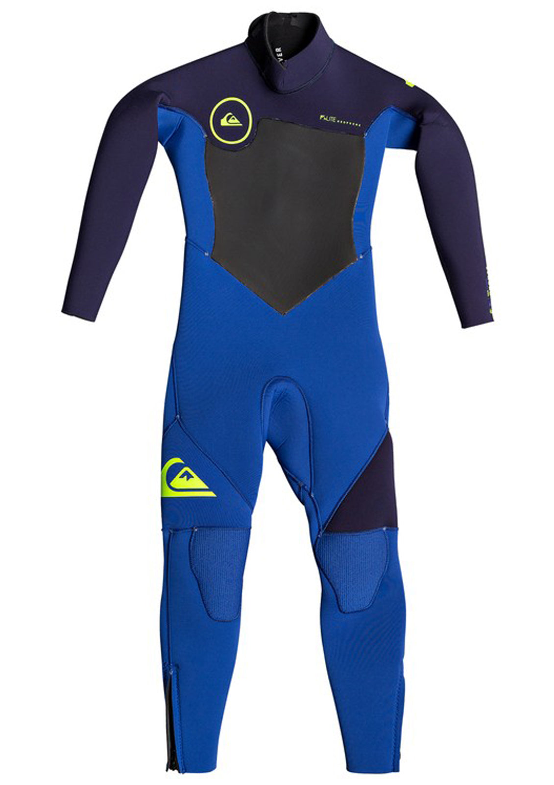 Quiksilver Boys 4/3mm Syncro Series Back Zip GBS Wetsuit