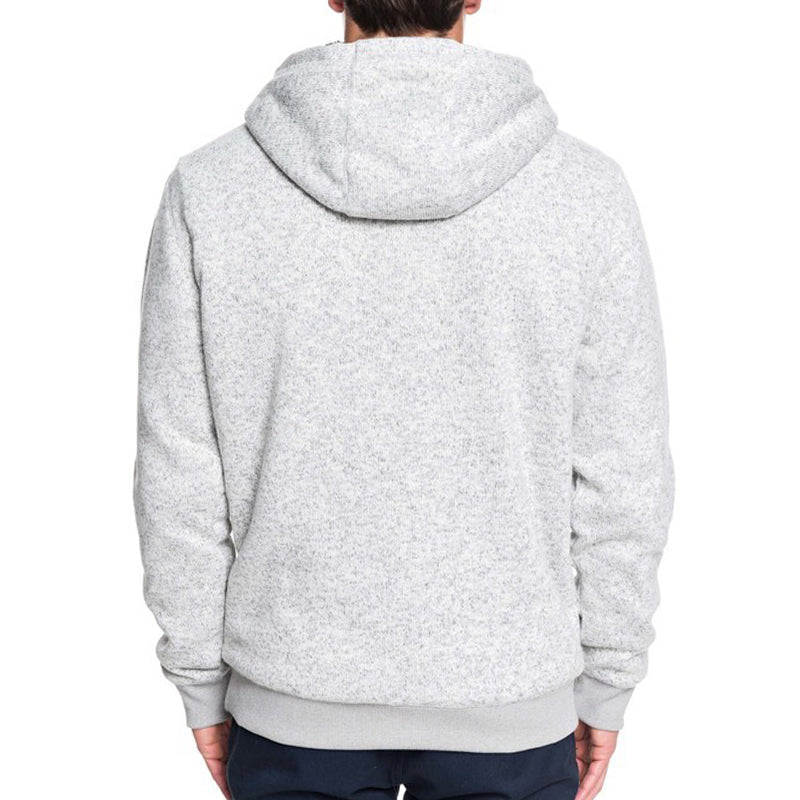 Quiksilver Keller Sherpa Hooded Zip-Up Sherpa-Lined Fleece