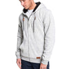 Keller Sherpa Hooded Zip-Up Sherpa-Lined Fleece