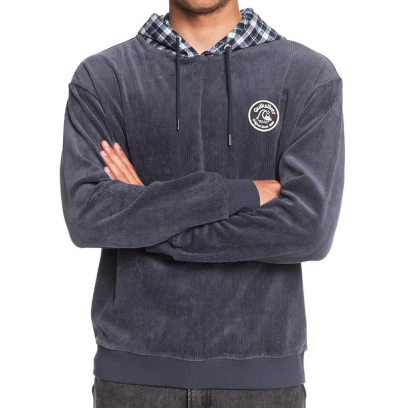 Quiksilver Wagon Road Corduroy Hooded Fleece