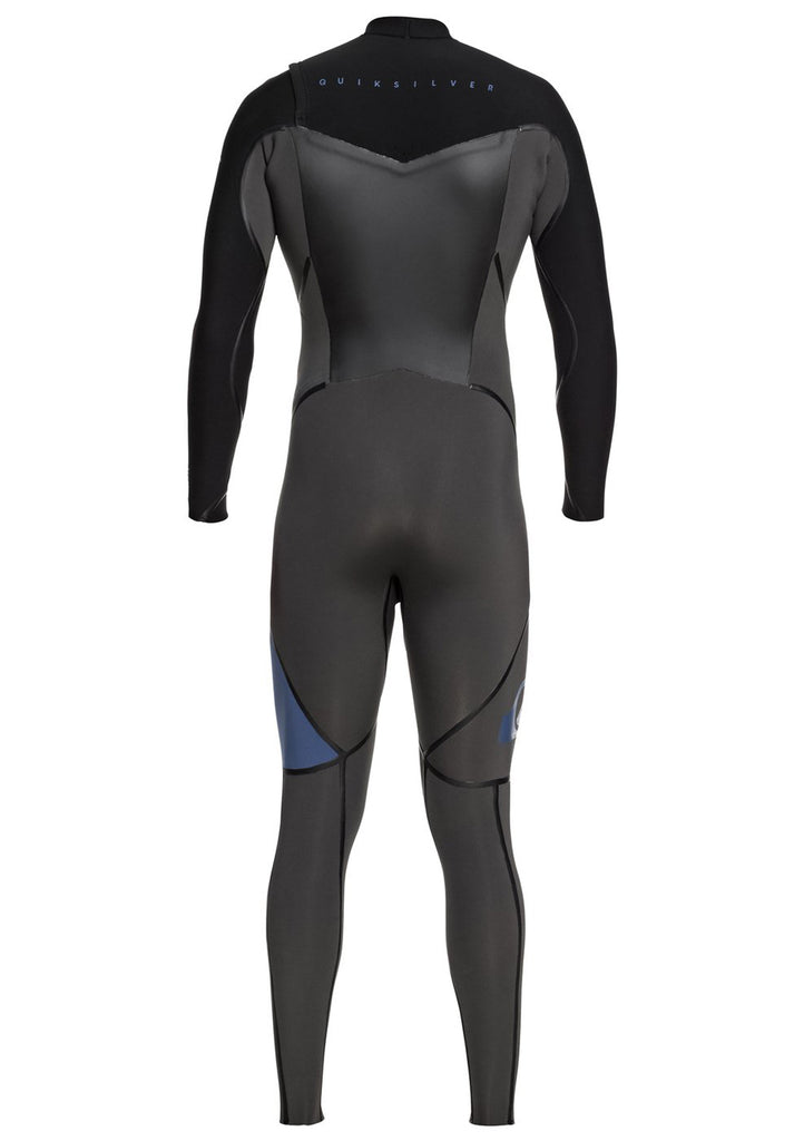 Quiksilver Men's 3/2mm Syncro Plus C/Z Fullsuit Wetsuit (Past Season)