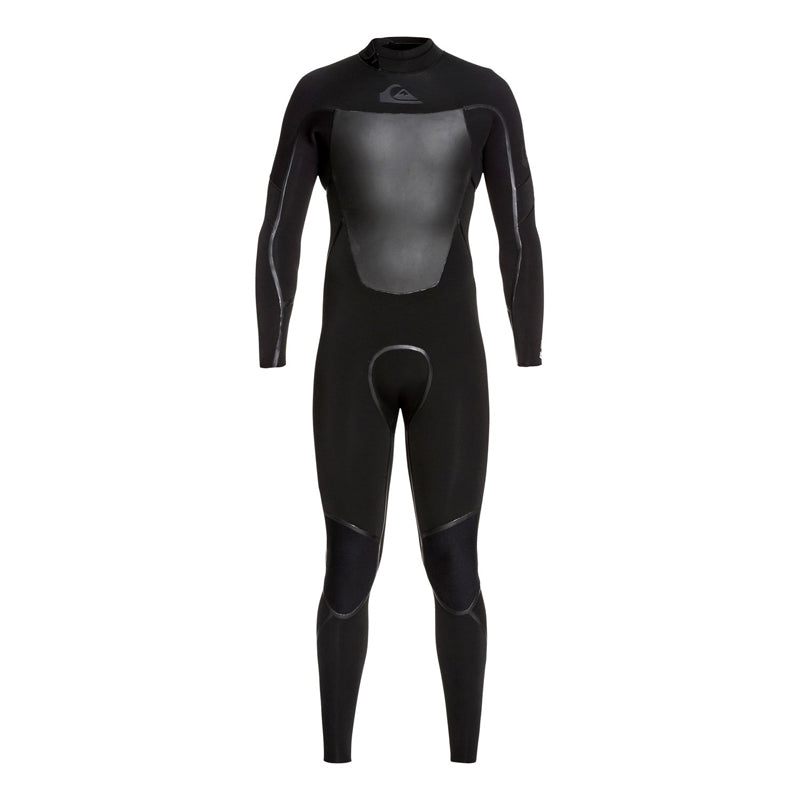 Quiksilver Men's 4/3mm Syncro Plus Back Zip Fullsuit Wetsuit FA19